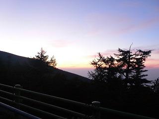 富士宮口の朝