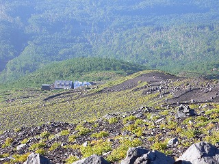 富士宮口の登山道