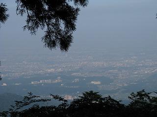 大山からの景色