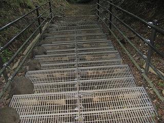 グレーチング階段