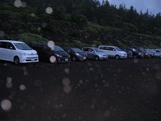 須走口の駐車場