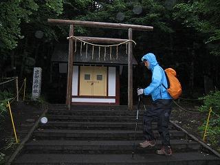 須走口の鳥居