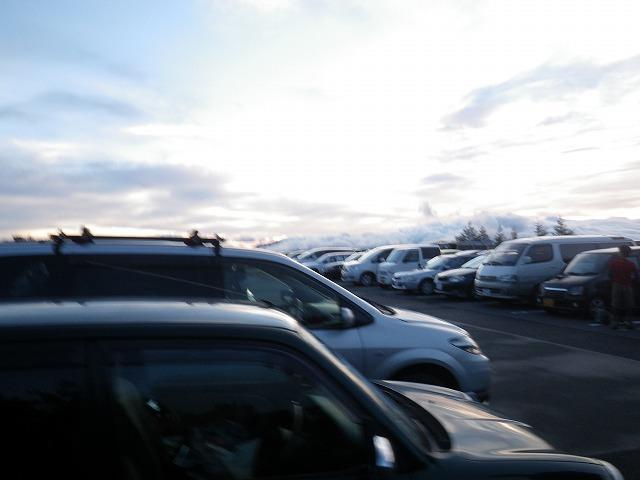 御殿場口の駐車場