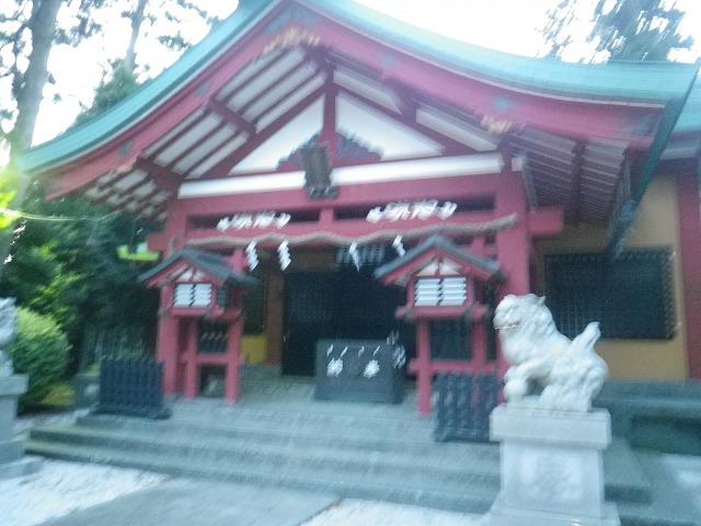 御殿場駅近くの浅間神社