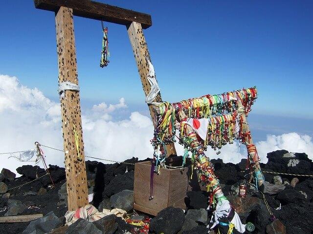 Torii of Mt. Fuji