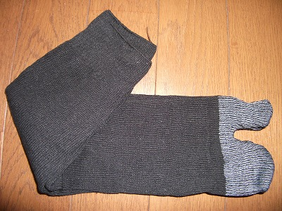 地下足袋専用の靴下