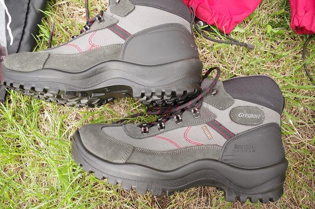 登山靴 富士登山 レンタルしてみました