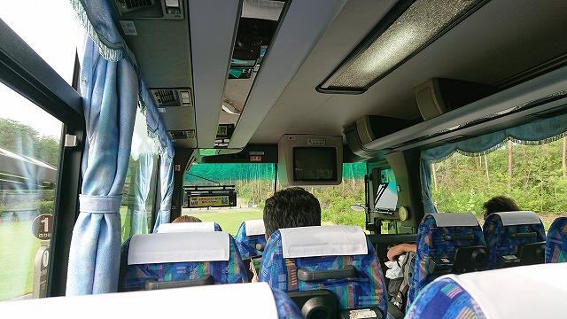 富士山パーキング~富士スバルライン五合目 富士急シャトルバス 社内