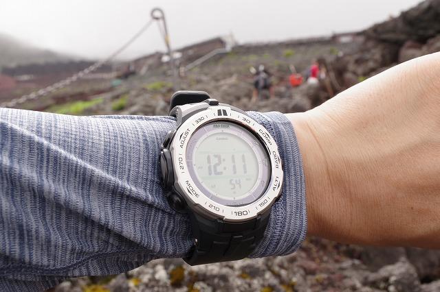 富士登山 腕時計