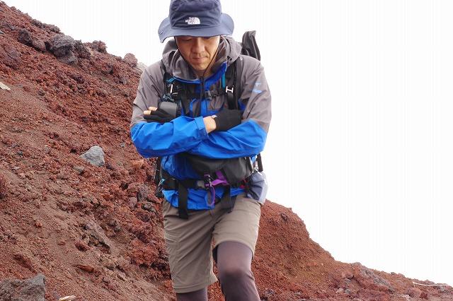 ベルグテックEXストームセイバ-VI を富士登山で使ってみました