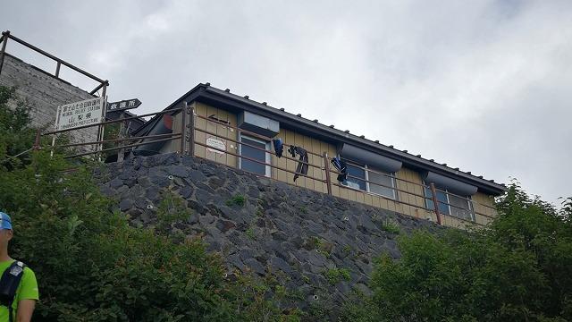 吉田ルート 富士山七合目救護所