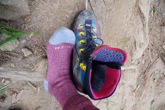 登山用の靴下・ソックス