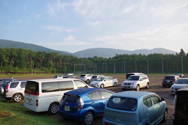 須走多目的広場(富士山マイカー規制による須走ルート乗換駐車場)
