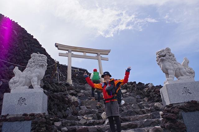 2018年 富士登山登頂