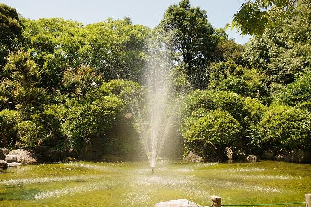柿田川公園 噴水