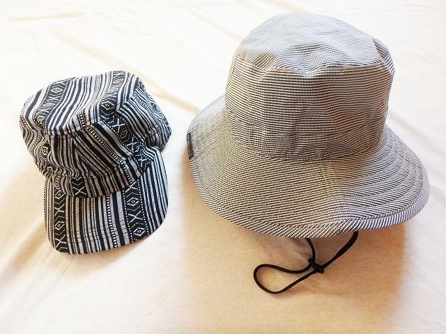 最適な帽子の種類は、天候によって変わる