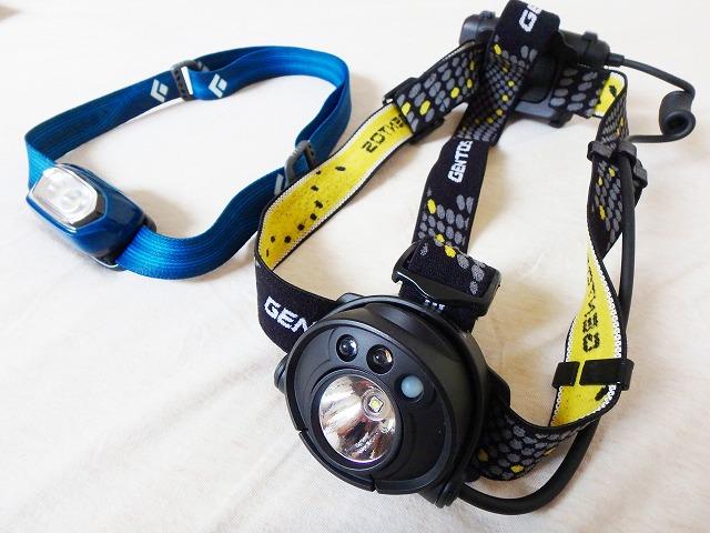 登山で使うヘッドライト(ヘッドランプ)