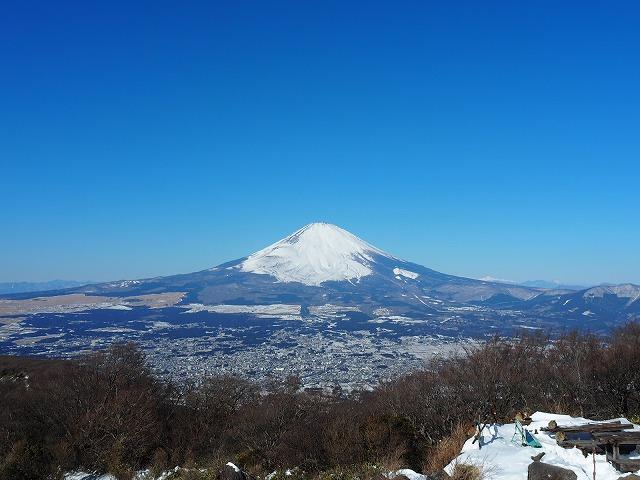富士山 金峰山山頂より撮影