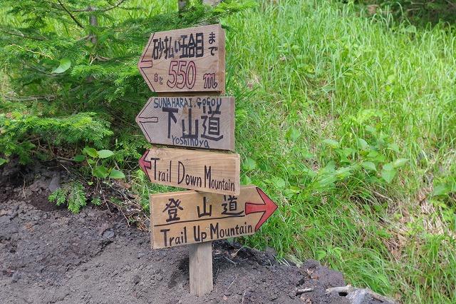 須走ルートの登山道の写真09