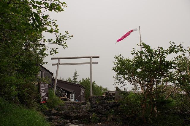 須走ルートの登山道の写真15