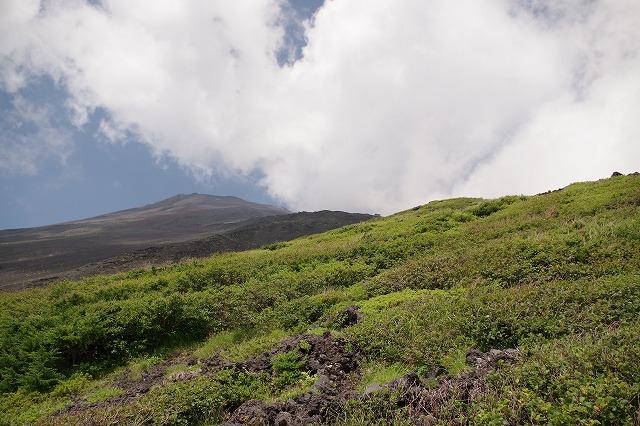 須走ルートの登山道の写真29