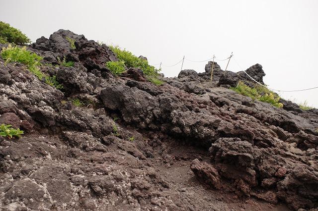 須走ルートの登山道の写真30