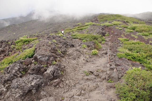須走ルートの登山道の写真33