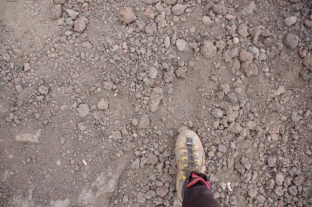 須走ルートの登山道の写真35