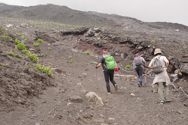 須走ルートの登山道の写真40