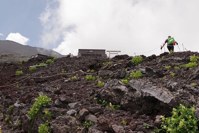 須走ルートの登山道の写真41