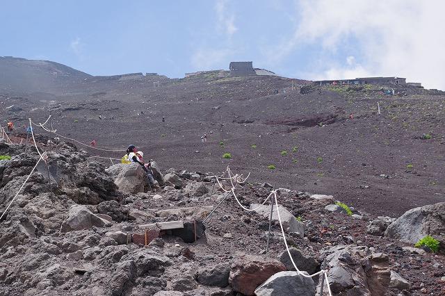 須走ルートの登山道の写真44