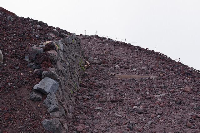 須走ルートの登山道の写真53