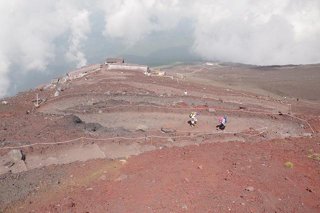 須走ルートの登山道の写真54