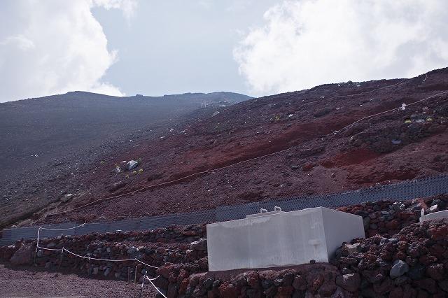 須走ルートの登山道の写真56