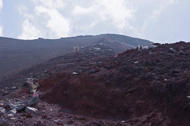 須走ルートの登山道の写真58