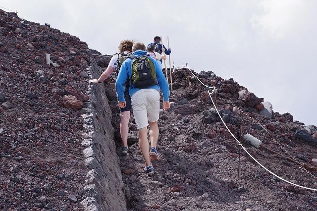 須走ルートの登山道の写真61