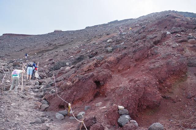 須走ルートの登山道の写真62