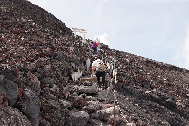 須走ルートの登山道の写真63