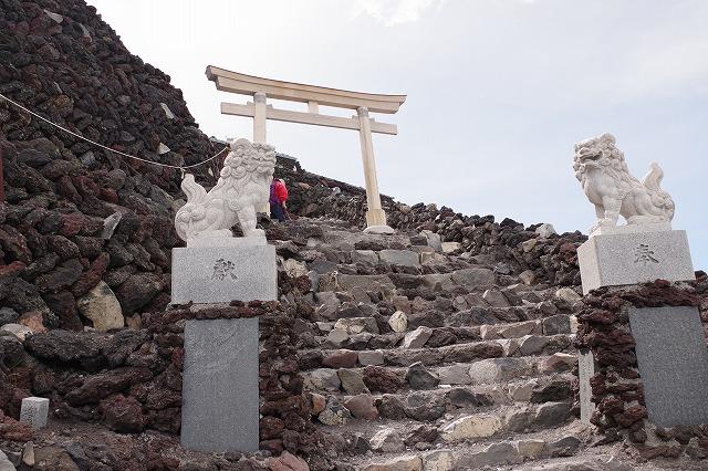 須走ルートの登山道の写真64
