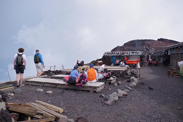 須走ルートの登山道の写真67