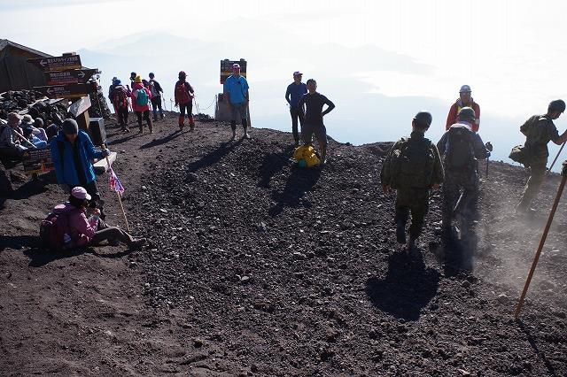須走ルートの登山道の写真76