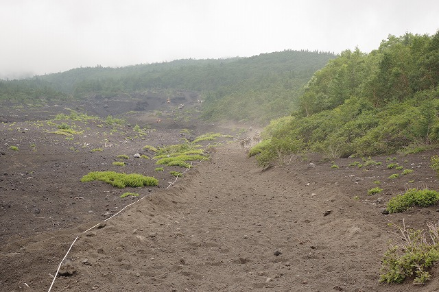 須走ルートの登山道の写真83